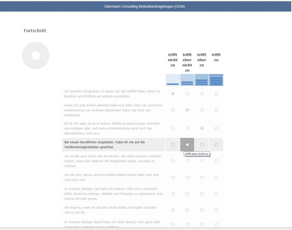Online-Testverfahren