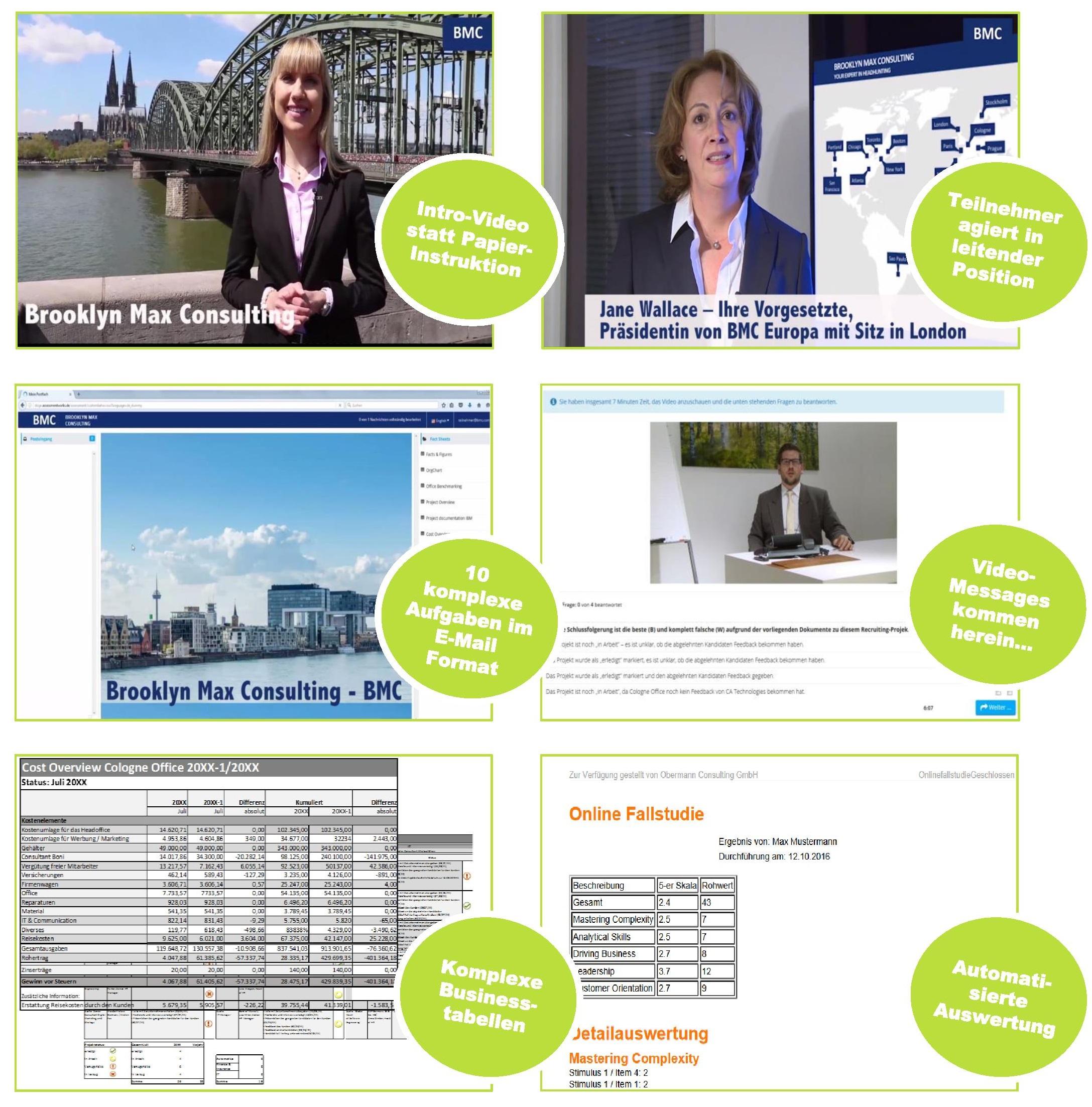 vorbereitung online assessment center