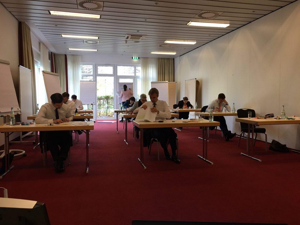 Vorbereitung Teilnehmer